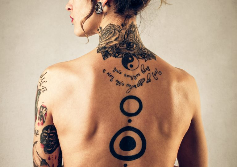 back tattoo position
